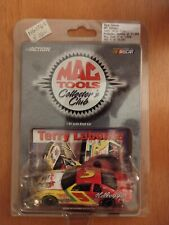 1999 Action Mac Tools Collector's Club 1:64 Terry Labonte Kellogg's #5 Car Card