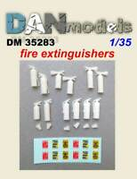 Dan Models 35283 - 1/35 - Fire-extinguishers (12 pcs) Set of parts, scale kit UK