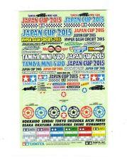 Tamiya 95090 1/32 Mini 4WD JR Logo Sticker Set Japan J-Cup 2015 Limited Edition