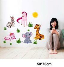 Wandtattoo Tierenwelt Giraffe Wandsticker XXL Deko  Kinderzimmer