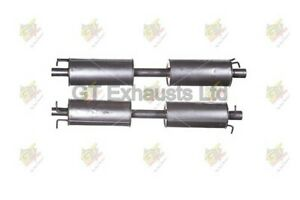 FORD TRANSIT 2.4 MK6 2000-2006 EXHAUST MIDDLE SILENCER **BRAND NEW**