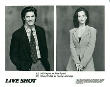 JEFF YAGHER CHERYL POLLAK TV Series LIVE SHOT 8x10 Promo Press News Photo 1995
