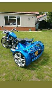 Yamaha xj650 trike