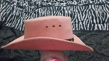Womens pink cowgirl hat