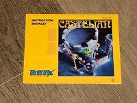 Castelian Instruction Manual Booklet Nintendo Nes Authentic