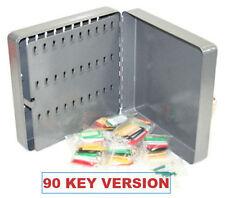 50 x NEW MIXED LARGE AVERY LOCKSMITHS STEEL LOCKING KEY CABINET CUPBOARD SAFE