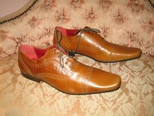 Mens Red Tape Smart Formal Brogues Lace Up Tan Shoes UK 11.5 EU 46 - NEW