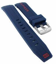 Tommy Hilfiger Pulsera de Reloj Silicona Azul Especial Idea 1791142