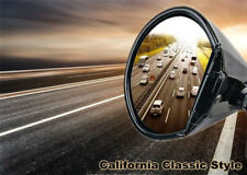 2x California Classic Door Wing Side Mirror Hot Rod Rat Rod Muscle Car Universal