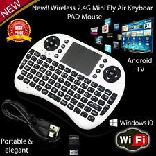 Mini Wireless Keyboard 2.4G Multi AirMouseTouchpad TV Box For Android Samsung LG