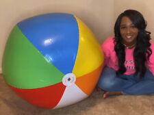 Riesen Aufblasbare wasserball *Rainbow colors** Beach ball / Wasserball 48 inch