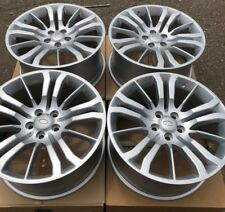 "SET OF FOUR 20"" x9.5"" WHEELS RIMS fit LAND RANGE ROVER HSE SPORT LR4 SILVER NEW"