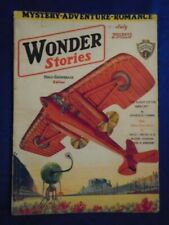 Wonder Stories July and August 1930