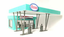 Gas Station Diorama Model Kit With Many Elements In Scale 1:43 Unpainted NEW