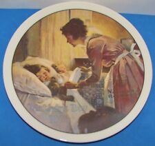 1976 Norman Rockwell Knowles Certified Ltd Ed A Mothers Love Plate 7532