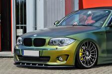 BMW E88 Front Bumper Lip Cup Skirt Lower spoiler Chin Valance Splitter Extension