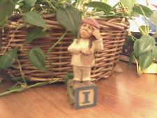 Cairn Studio Tom Clark Gnome ~ Alphabet ~I~ Indian Ivy India Rare Christmas! # 1
