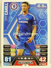 Match Attax 2013/14 Premier League - #059 Gary Cahill - Chelsea