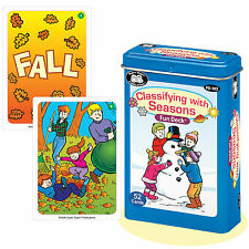 Classifying with Seasons Flash Cards Super Duper Fun Deck Story Starter Vocab