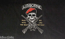 Airborne Flag - Mess w/ the Best - Die Like the Rest - 3' x 5'  Flag - Banner