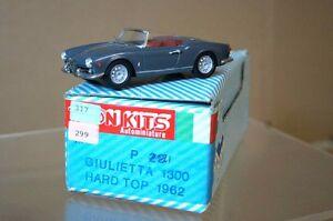TRON PROVENCE MOULAGE 1962 ALFA ROMEO 1300 GIULIETTA ar