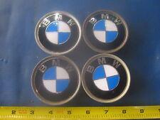 BMW 3 series wheel center caps hubcaps emblem badge OEM 1095361 set of 4