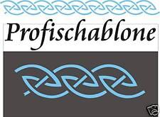 Wandschablone, Malerschablonen, Stencils, Stupfschablone, Schablone, Keltenmotiv