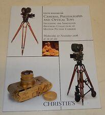 CATALOGUE de VENTES CHRISTIE'S Cameras, Photographs & Optical Toys LEICA Stéréo