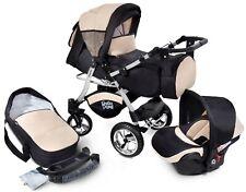 Passeggino TRIO Baby Carrozzina 3in1 Seggioliono OVETTO AUTO GagaDumi Urbano