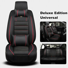 Full Set Luxury PU Leather Car Seat Cover Cushion Set For Interior Accessories