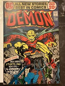 DC The Demon #1 (1972) - 1st Appearance of Etrigan the Demon excellent condition