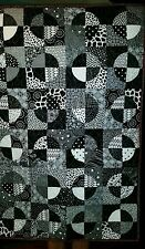Black and Red Crib Quilt