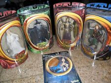 5 Lot Figures Lord of the Rings Fellowship Galadriel Gandalf Prologue Eowyn Toy