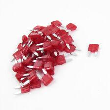 Mini Fusibili A   Rosso Per Auto 60 Pezzi 10A
