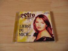 CD Petra Frey - Liebst Du mich - 1996 incl. Junge Herzen + Ich brauche kein Bett