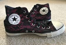Converse All⭐️Star Lace Hi-Tops In Women's Size 8