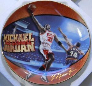 "1998 UPPER DECK MICHAEL JORDAN HIS AIRNESS PLATE #1 ""1998 NBA ALL-STAR MVP"""