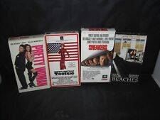 VHS Movies (4) Sneakers-Beaches-Tootsie-Pretty Woman