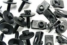 Body Bolts & U-nut Clips- M6-1.0 x 25mm Long- 10mm Hex- 40 pcs (20ea)- LD#146F