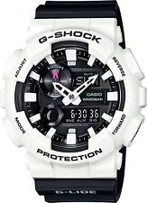 BRAND NEW CASIO G-SHOCK GAX100B-7A G-LIDE ANA-DIGI BLACK/WHITE WATCH NWT!!!