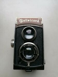 Rollei Rolleicord II type 1 3.5(K3 521) Triotar 3,5  7,5 cm Carl Zeiss Jena