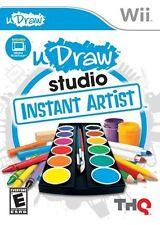 U Draw Studio Instant artist Nintendo Wii