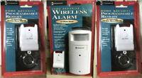 Intermatic WIRELESS ALARM Home Security MOTION SENSOR Program 3 PERSONAL REMOTES