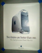 "Apple Power Mac G4 Dual Processor ""Two Brains are Better than One"" Poster"