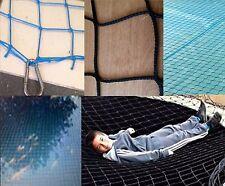 KN 4m x 4m BLACK SUPER NET child safety garden pond netting pool cover grids