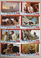 (Z348) Fotosatz SIE NANNTEN IHN STICK 1985 Burt Reynolds, Candice Bergen, George