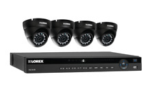 Lorex 8 channel NR9082 4K home security system with 4 weatherproof 4MP Dome L...