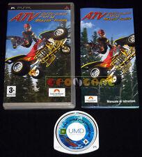 ATV OFFROAD FURY BLAZIN' TRAILS Psp Versione Italiana 1ª Edizione •••• COMPLETO