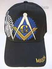 e171bf31fff4e MASONIC Hat Cap Black New FREEMASON MASONIC LODGE   Free Shipping