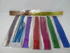 Allbeauty Hair Tinsel Strands Kit 44 Inches 9 Colors Tinsel Hair Extensions